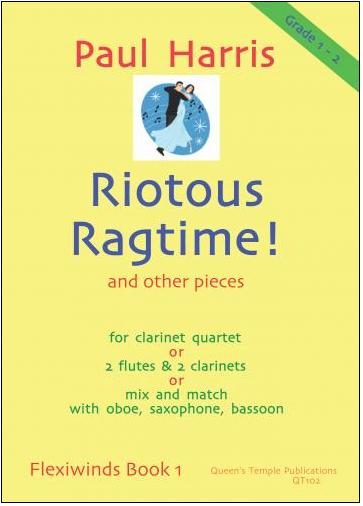 RIOTOUS RAGTIME! (score & parts)
