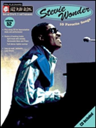 STEVIE WONDER Jazz Playalong Volume 52 + CD