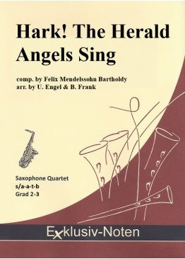 HARK! THE HERALD ANGELS SING score & parts