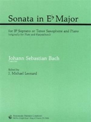 SONATA in Eb major, BWV 1031