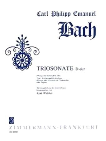 TRIO SONATA in D Wq.151
