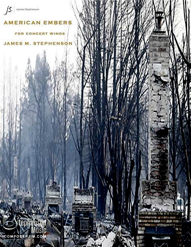 AMERICAN EMBERS (score & parts)