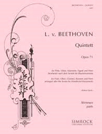 QUINTET Op.71 (set of parts)