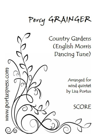 COUNTRY GARDENS (score & parts)