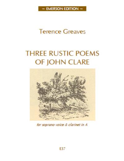 THREE RUSTIC POEMS OF JOHN CLARE