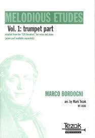 MELODIOUS ETUDES Volume 1 Trumpet Part