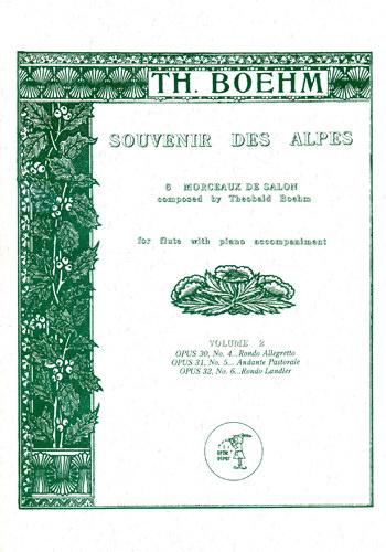 SOUVENIR DES ALPES Volume 2