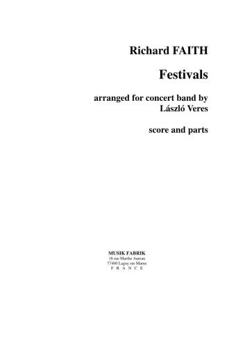FESTIVALS (score & parts)