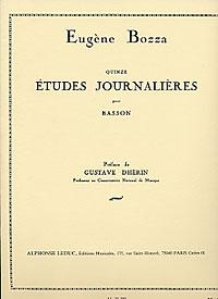 15 ETUDES JOURNALIERS
