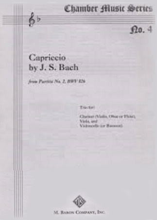 CAPRICCIO from Partita No.2 BWV826