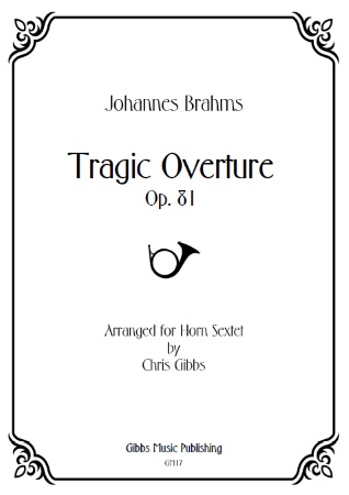 TRAGIC OVERTURE (score & parts)