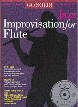 JAZZ IMPROVISATION FOR FLUTE + CD