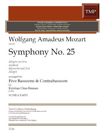 SYMPHONY No.25 (score & parts)