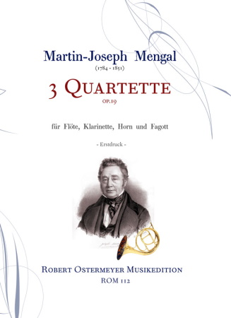 3 QUARTETS Op.19 score & parts