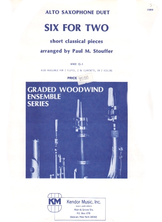 SIX FOR TWO classical pieces