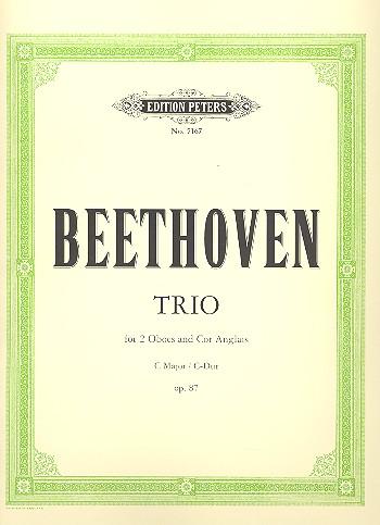 TRIO in C major Op.87 (set of parts)