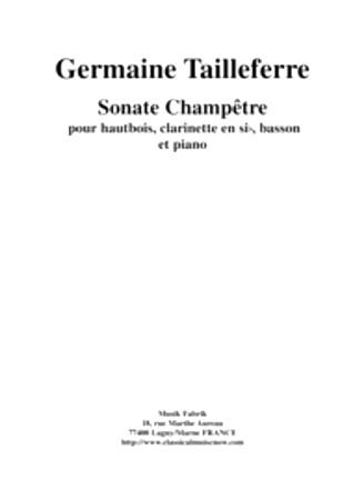 SONATE CHAMPETRE