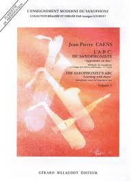 THE SAXOPHONIST'S ABC Volume 1