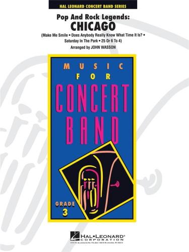POP & ROCK LEGENDS : CHICAGO (score & parts)