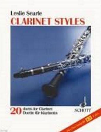 CLARINET STYLES rhythm part