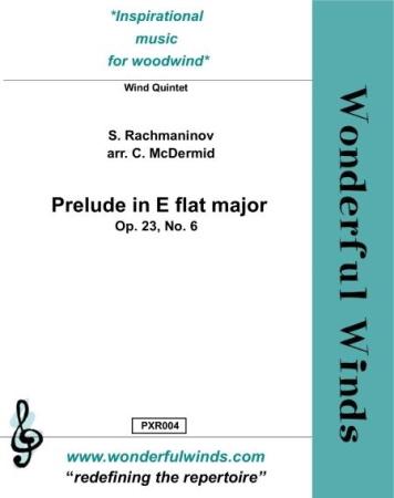 PRELUDE in Eb major, Op.23 No.6 (score & parts)
