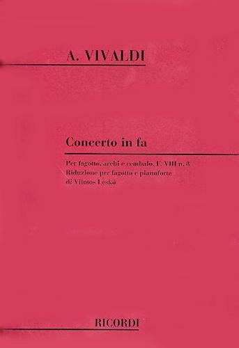 CONCERTO in F major FVIII/8 PV318 RV485 Op.45 No.5