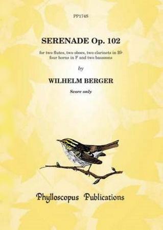SERENADE in F major Op.102 Score