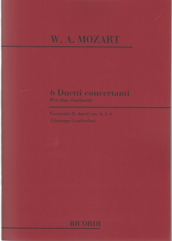 6 DUETTI CONCERTANTE Volume 2