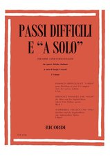 DIFFICULT PASSAGES from Italian Opera Volume 1