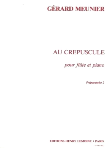 AU CREPUSCULE