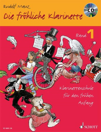 DIE FROHLICHE KLARINETTE Book 1 + CD (text in German)