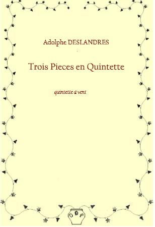 TROIS PIECES EN QUINTETTE (score & parts)