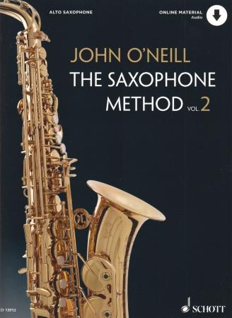 THE SAXOPHONE METHOD Vol.2 + audio download