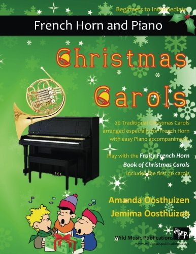 CHRISTMAS CAROLS for French Horn & Easy Piano