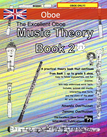 THE EXCELLENT OBOE Music Theory Book 2 (UK Edition)