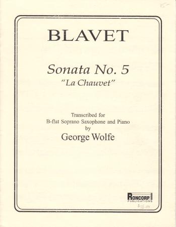 SONATA No.5 'La Chauvet'