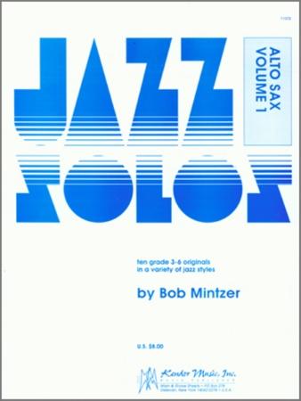 JAZZ SOLOS Volume 1 10 solos