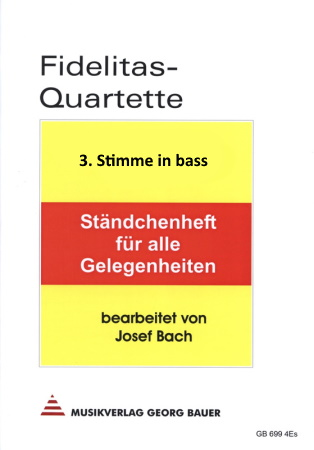 FIDELITAS QUARTETTE Part 3 in C bass clef