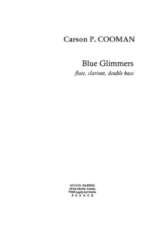 BLUE GLIMMERS