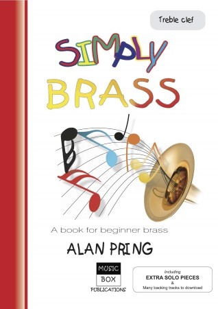 SIMPLY BRASS + Downloads (treble clef)