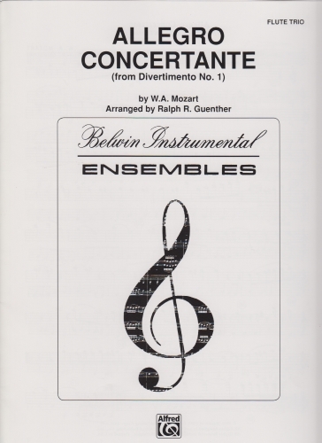 ALLEGRO CONCERTANTE from Divertimento No.1