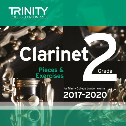 CLARINET PIECES 2017-2020 Grade 2 CD