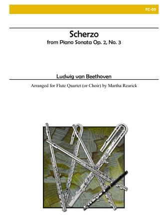 SCHERZO from Piano Sonata, Op.2, No.3