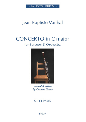 CONCERTO in C major - Orchestral Parts