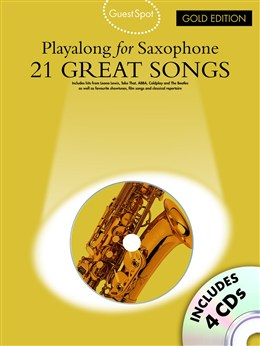 GUEST SPOT: 21 Great Songs Playalong + CD