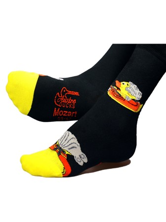 SOCKS Mozart Duck, Size 39-42 (EU) / 6-8 (UK)