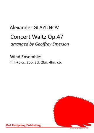 CONCERT WALTZ Op.47 (score & parts)