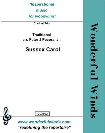 SUSSEX CAROL  (score & parts)