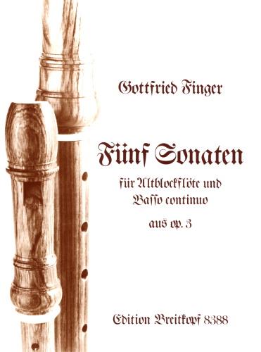 FIVE SONATAS from Op.3