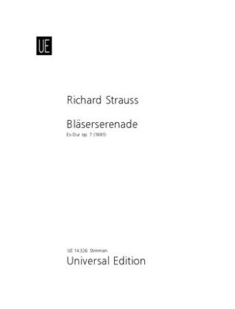SERENADE Op.7 (set of parts)